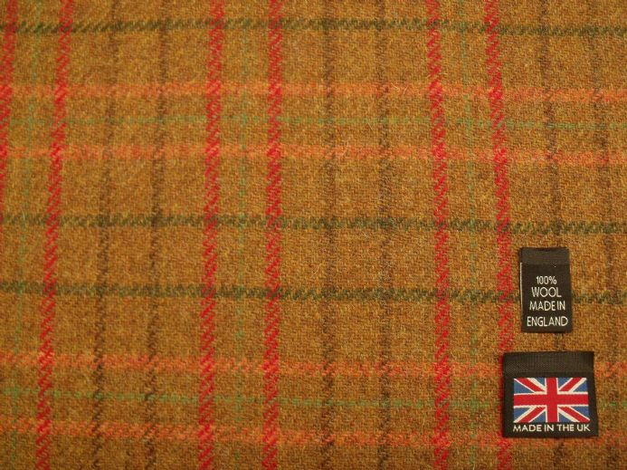 Country Tweed Check Fabric AZ54
